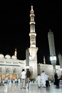 Prophet's Mosque at Madina