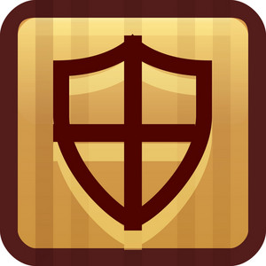 Protection Shield Brown Tiny App Icon