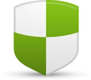 Protection Shield Lite Communication Icon