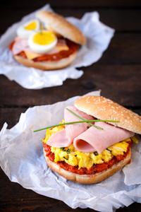 Pub Egg Sandwiches