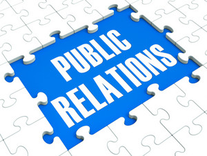 Public Relations Puzzle Shows Publicity And Press