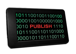 Publish Concept On Pc Tablet