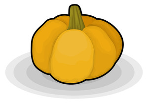 Pumpkin Design Shape
