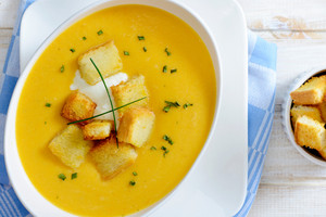 Pumpkin Soup From Above