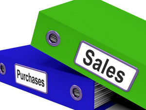 Purchases And Sales Files Containing Records Of Transactions