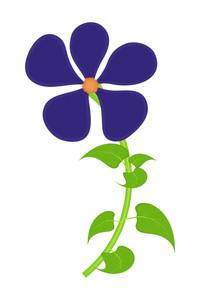 Purple Blossom Vector