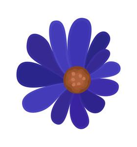 Purple Flower Element