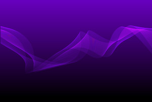 Purple Mystic Wavy Backgriund Vector