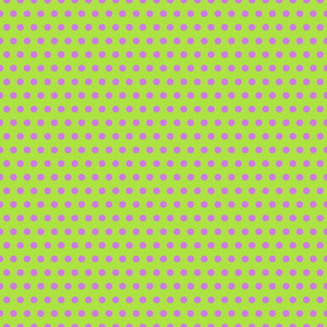 Purple Polka Dots Pattern On A Green Background