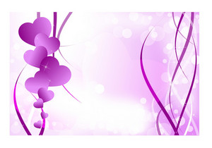Purple Valentine Day