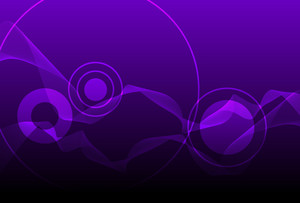Purple Wavy Background