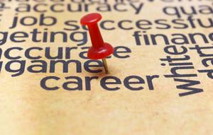 Push Pin On Career