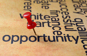 Push Pin On Opportunity Text