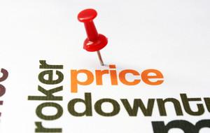 Push Pin On Price Text