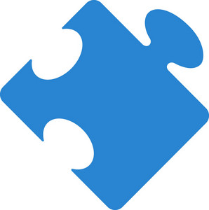 Puzzle Piece Simplicity Icon