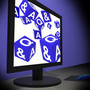 Q And A Dices On Monitor Shows Questions Quiz
