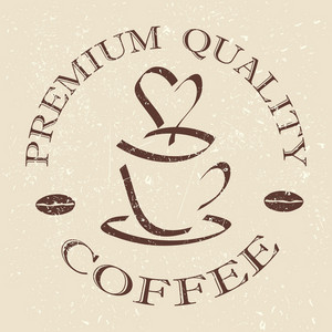 Quality Coffee Label