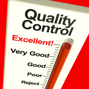 Quality Control Excellent Monitor Showing Satisfaction And Perfection