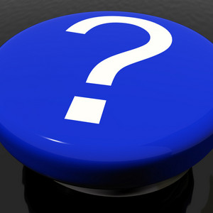 Question Mark Button As Symbol For Faq Or Information