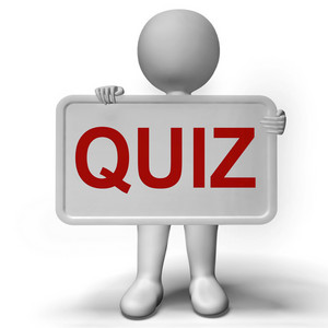 Quiz Sign Meaning Test Exam Or Examination