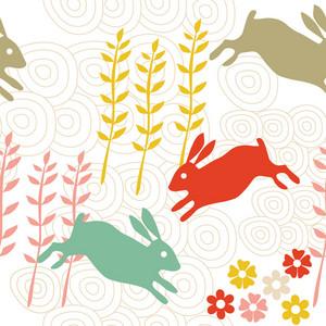 Rabbit Seamless Texture
