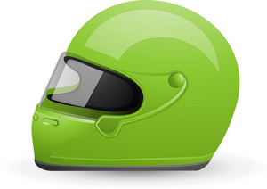 Racing Helmet Lite Sports Icon