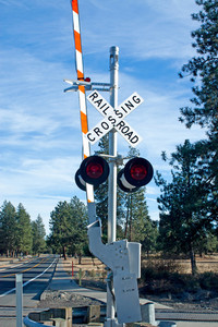 Railroad Crossing Signal Gate