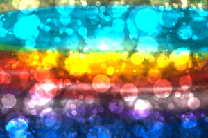 Rainbow Bokeh