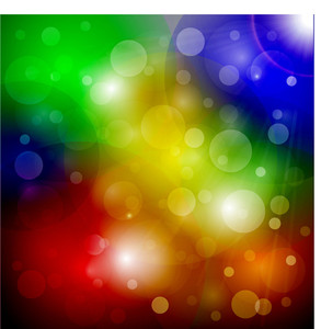 Rainbow Bubbles Background
