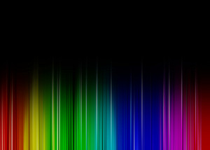 Rainbow Dark Background
