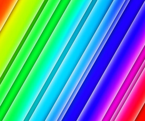 Rainbow Glowing Stripes Background