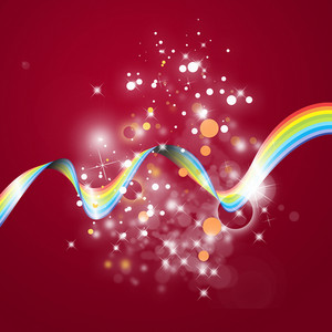Rainbow Line Background