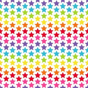 Rainbow Stars Pattern