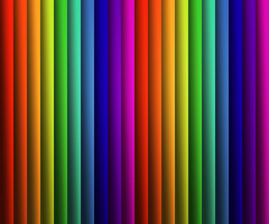 Rainbow Stripes Backdrop