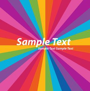 Rainbow Stripes Design Background