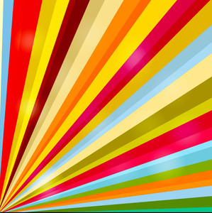 Rainbow Sunburst Backdrop