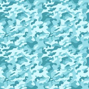 Blue Camouflage Pattern