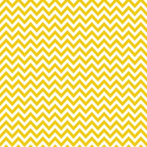 Yellow And White Chevron Pattern