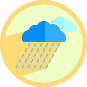 Raining Clouds Icon