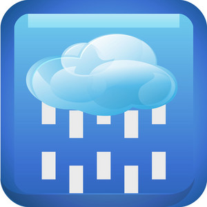 Rainy Weather Tiny App Icon