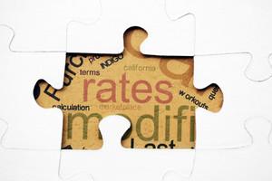 Rates Puzzle Concept