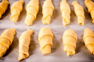 Raw Croissants