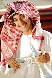 Real arabic coffee