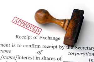 Receipt Of Exchange