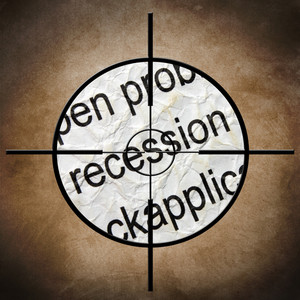 Recession Target Concept