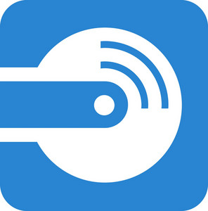 Record Player Simplicity Icon