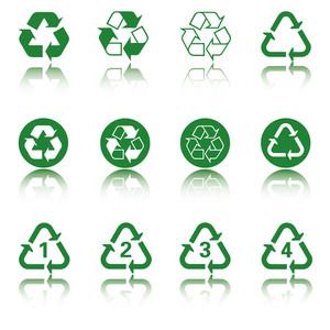Recycle Icon Set