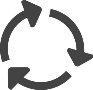 Recyle Glyph Icon