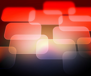 Red Abstract Computer Background