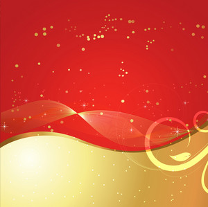 Red Abstract Royal Background